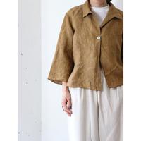 Linen 3/4sleeve shirt