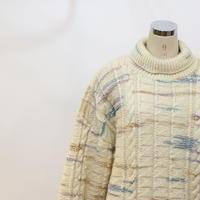オーバーサイズ タートルネックセーター [526B]