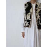 Vintage Mouton Vest [No.70357]