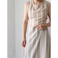 80's Stripe summer dress