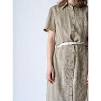 90's Silk long dress