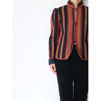 ~80's Quilting Stripe Jacket