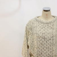 80~90's オーバーサイズフィッシャーマン セーター [525B3]