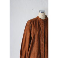 90's Bandcollor Shirt  [537C3]