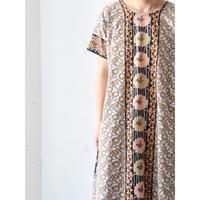 "Batik long dress ""orange"""