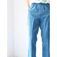 """Corduroy easy pants """"emerald"""""""