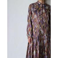 Pleats Marble Dress