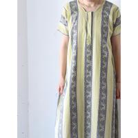 """Batik long dress """"green"""""""
