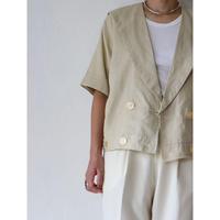90's Linen S/S Jacket [No.40081]