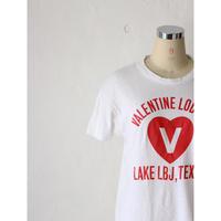 "70's T-shirt ""VALENTINE"" [700C]"