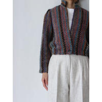 Mix Knit Jacket [No.50413]