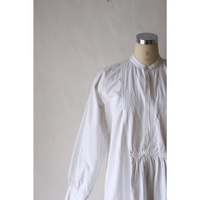 Antique Cotton Long ShirtDress [643C]