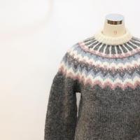 80's ノルディックセーター [525B1]