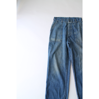 40's~ U.S.NAVY DenimDeckPants [785C]
