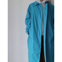 """Balmacaan Coat """"Turquoise"""" [No.30409]"""