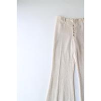 Vintage RibKnit Flare Pants [No.00054]