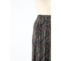 80's Paisley skirt [743C]
