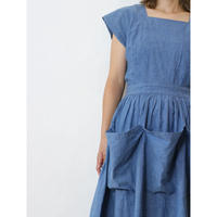50's Chambray Dress [No.80107]