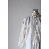 Antique Linen Long Dress [641C2]