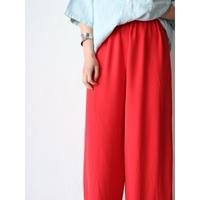 90's Color wide pants
