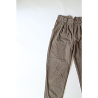 Twill tuck pants [020C1]