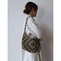 Wood Beads Shoulder Bag [No.40288]