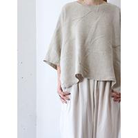 Wide linen design tops