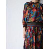 80's Patterned Dress