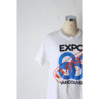 "80's T-shirt ""EXPO86"" [589C3]"