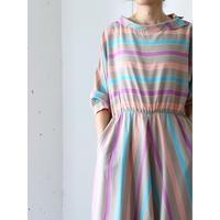 80's Pastel color dress