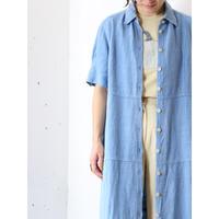 Heavy linen maxi dress