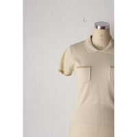 Knit LinePolo [592C12]