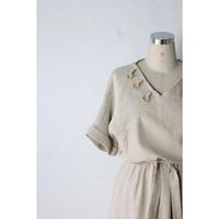 France Linen Onepiece [450C]