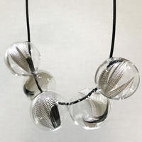 Ornament glass Necklace [GFN-19]