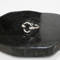 sliver 925 ring 52