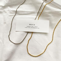 N-3 simple  necklace