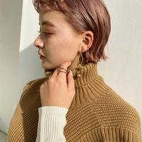 (pierce/earring)P-9 nuance gold pierce