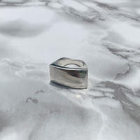 Plate Silver Ring  (Unisex)
