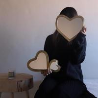 ※第2期予約販売12月〜2020年3月末発送 I love meHeart mirrorMサイズ