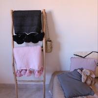 Pompom Blanket【Mサイズ】 150×250