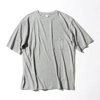 Neon Slab Crew Neck Pocket T-shirts (JS021)