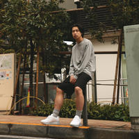 LOOSE FIT LONG SLEEVE POCKET TEE / GR7 [MJ1-0410]