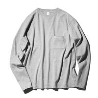 Crew Neck Poket Long T-shirts(JS030)