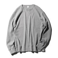 Waffle Long Sleeve Pullover(JS100)