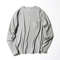 Neon Slab Crew Neck Pocket Long T-shirts (JS031)