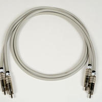 Microtech Gefell (Neumann Gefell) mic cable1980~90 / RCA-RCA / vintage / 約1.5m