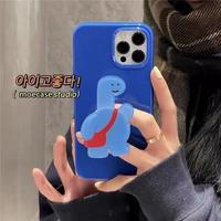 ポップソケットスタンド クマ iphone12/11ケース ins人気品 アイフォンXS/SE2カバー ツヤ感携帯カバーM349