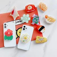 花 寿司 グリップトーク  可愛い便利なスマホグリップ ポップソケット  スタンド機能付き  全機種対応 M714