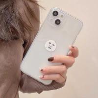 シートパックマスク柄 iPhone13mini/13promaxケース 透明 iphone12mini/11proカバー   超可愛い SNS人気M1114