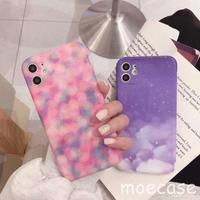 個性的まぶしい雲柄iphone11roケース  ピンク系アイフォン11カバー オシャレな人気アイテム [M00050]